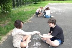 10.06.2021 Dbamy o relacje. Zabawy na podwórku szkolnym.