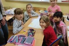 16.03.2021 Klasa I SP uczy się współpracy. Koordynatorzy p. Lebida i p. Tokarczyk
