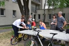 24.06.2021 Rajd rowerowy dla kl. I - III SP. Koordynator p. Świech  Opieka p. Świech, p. Nogaj i Rozciecha